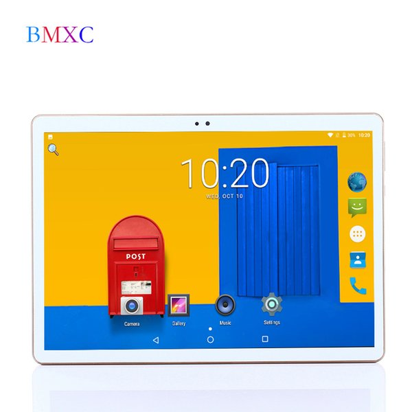 2018 Original BMXC tablet 10.1 inch Android 7.0 Quad Core 3G Smart Kids tablets 32G ROM 1280*800 IPS WIFI bluetooth GPS 7 8 9 10