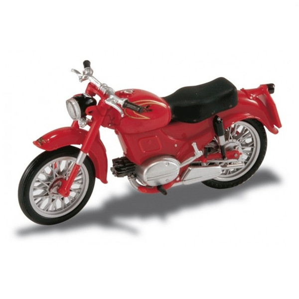 rare Out of print Mot Guz Zigol (1953) Starlin 1:22 Retro Motorcycle Model Semi alloy Collection model