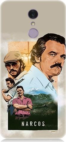 For LG teknomeg pablo escobar q7 pattern design silicone case ship from turkey HB-004379412