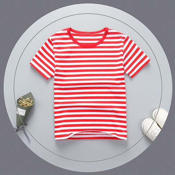 good quality summer boys t shirts cotton striped clothing kids boys causal sports top children short sleeve tees boy uniform clothes