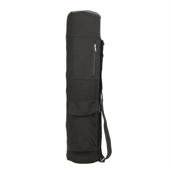 Carriers Yoga Mat Carriers Adjustable Shoulder Strap Yoga Mat Bag Large Capacity Lightweight Sports Supplies Gym Fitness Bag #690787