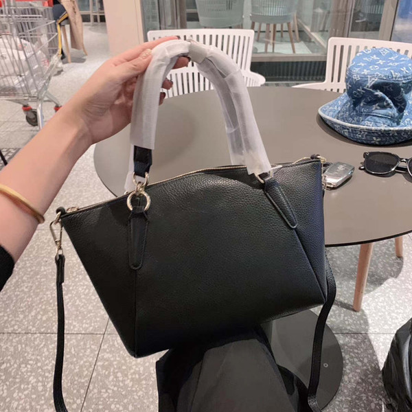 Lady Bayan Tasarımcı Omuz Çantası Lüks Bez Marka Omuz Çantası Siyah Basit Stil Çapraz Vücut B100748Z