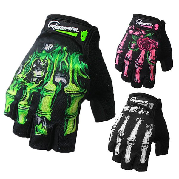 Half of the men's and women's leather gloves sheepskin gloves green red white dance to drive a car ride free shipping