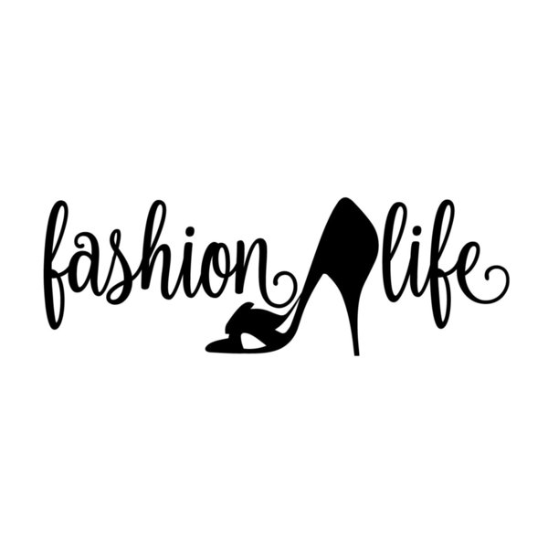 Fashion Life Decal Window Bumper Sticker Car Runway High Heels Shoes Clothes Rear Window Car Sticker
