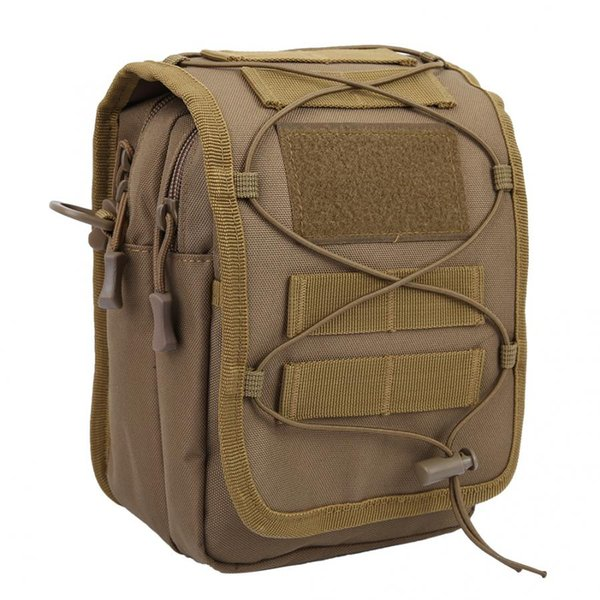 20/40l backpack tactics sports multi-functional bag messenger single shoulder bag brown outdoor accessory men/women sports thumbnail