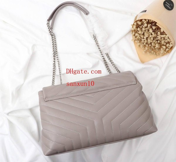 Nueva marca de moda bolsos de mujer Señoras de la moda caliente de cuero genuino Crochet Decoración Hombro Messenger Bag Sacs à main de luxe B- @ 27