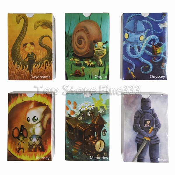 DIXIT Cards Game Cards DIXIT Party Board Game Tarot Game basic/origin/odyssey/daydreams/memories/journey