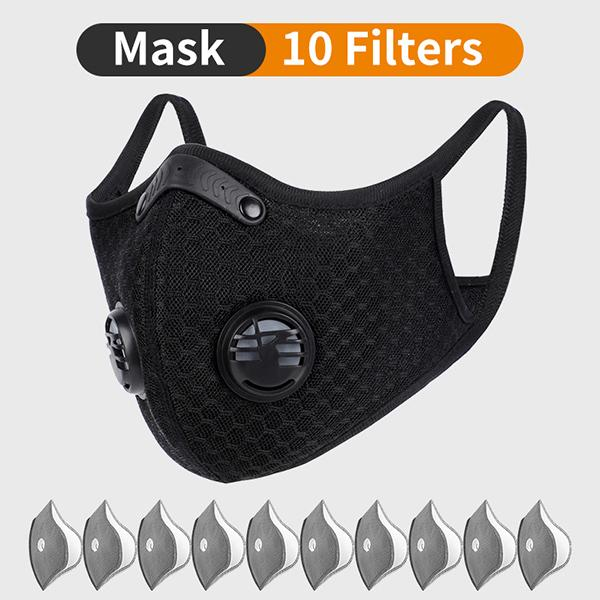 Mask with 10 Filters