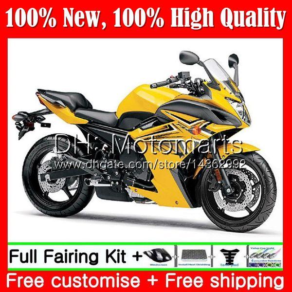 Body For YAMAHA FZ6N FZ6 R FZ6R 09 10 11 12 13 14 15 94MT21 FZ-6R Yellow black FZ 6R 2009 2010 2011 2012 2013 2014 2015 Fairing Bodywork