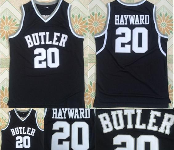 reputable site b8840 5dd11 2019 Butler Bulldogs #20 Gordon Hayward College Basketball Shirts Vintage  Stitched University Basketball Jerseys S XXL Top Quality From Gamemen, ...