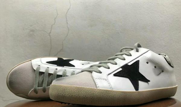 formal white mountai dn 43 ne Leather Villous Dermis Casual Shoes Mens And Women Superstar trainer 62