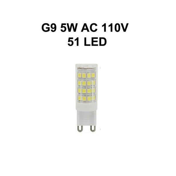 G9 5W AC110V 51LED