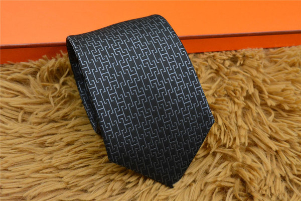 Fashion Accessories Necktie Brand Fashion classic Men Silk Ties for Men Business Tie High Quality Mens Neck Tie with logo Wedding Party