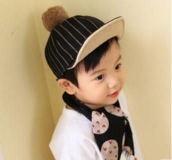 Children's Hat Fall and Winter Boy Duck Tongue Hat Korean Version Chao Girl Baby Woolen Cap Child Equestrian Hat