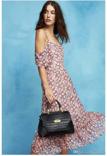 Borsa a tracolla singola shopping bag in pelle di alta qualità di alta qualità di prezzo di buona qualità
