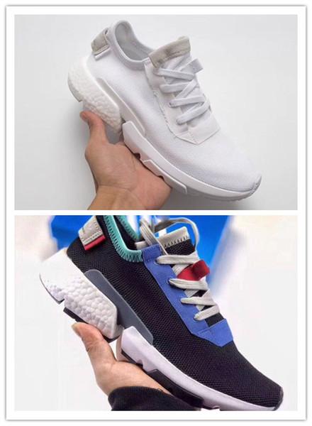 Toptan Tasarımcı moda lüks ayakkabı erkekler Futurecraft POD kadınlar Dalga Koşucu koşu erkek Eğitim En kaliteli Sneakers 3A 11