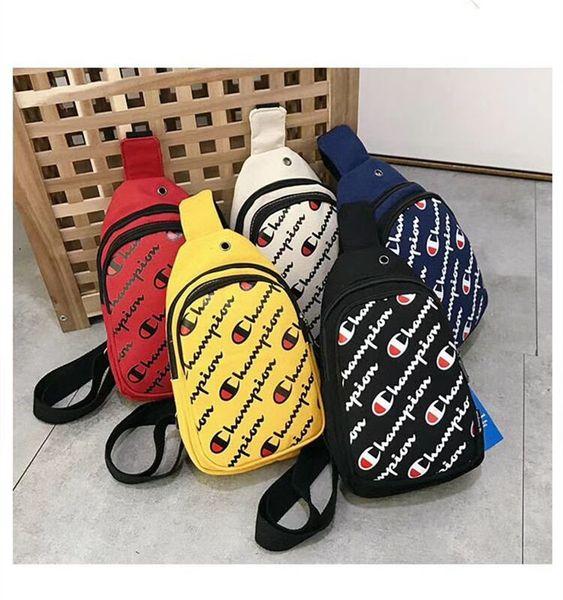 Şampiyonlar Tasarımcı çanta Göğüs Çanta marka Crossbody çanta Bel Fanny Paketi Kemer Kayışı Çanta Omuz Çantaları Seyahat Plaj Spor Çantalar C6308