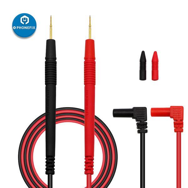1000 V 10A Probe Testi Dijital Multimetre Iğne Ucu Çok Metre Tester Için Pin Talepleri Kurşun Probe Tel Kalem Kablo