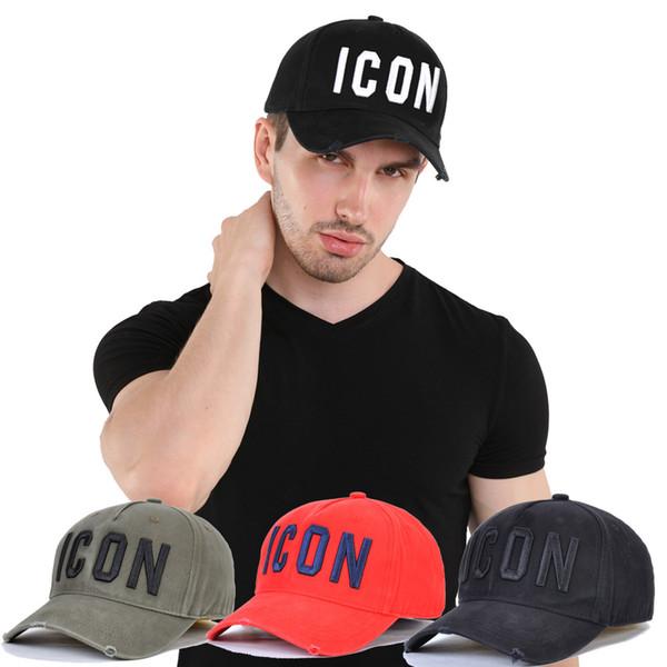 Toptan Tasarımcı kapağı Özel teklif yeni Erkek beyzbol şapkası 4 renk Snapback Lüks Simge d2 şapka nakış Yüksek kaliteli Pamuk Kadın şapka