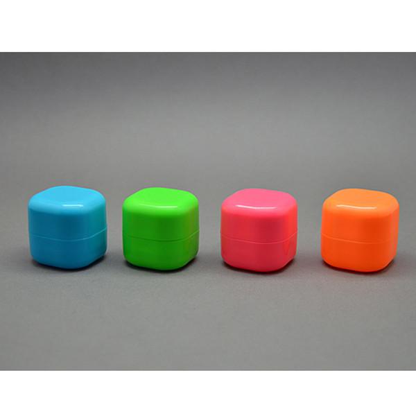 Leere Lippenbalsam Tube für Kugelform Lippenstift DIY Lip Rouge Verpackungsbehälter 7 g grüne Rose Orange Blau P176