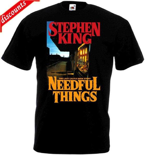 Eté 2018 T-shirt BrandNeedful Things v.2 Famous Brand Poster noir toutes tailles ... 5XL Cotton Tees Livraison Gratuite