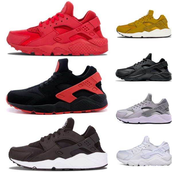 Men Women Huarache IV 4 Running designer Shoes Grey Red Green Triple black white Blue Classicl Trainers Sport Athletics Sneakers song