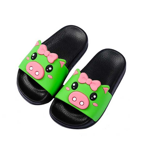 Children's Slippers Girls Boys Cute Cartoon Bathroom Bath Slippers Baby 2019 Summer Skid-proof Sandals For Kids Beach Shoes #72