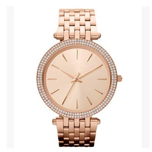 Ultra Mince Rose Or Femme Diamant Fleur Montres 2019 Marque De Luxe Infirmière Dames Robes Femme Pliant Boucle Montre-Bracelet Cadeaux Pour Les Filles