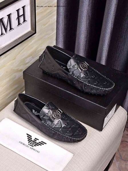 2019 Cheap Fashion Men's Casual Slip-on black and white men dress Shoes Comfortable For Lace-up Brand Leisure
