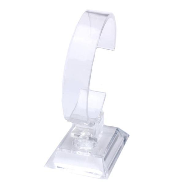 Supporto del banco di mostra dell'orologio del braccialetto del polsino del braccialetto dei gioielli di 6PCS