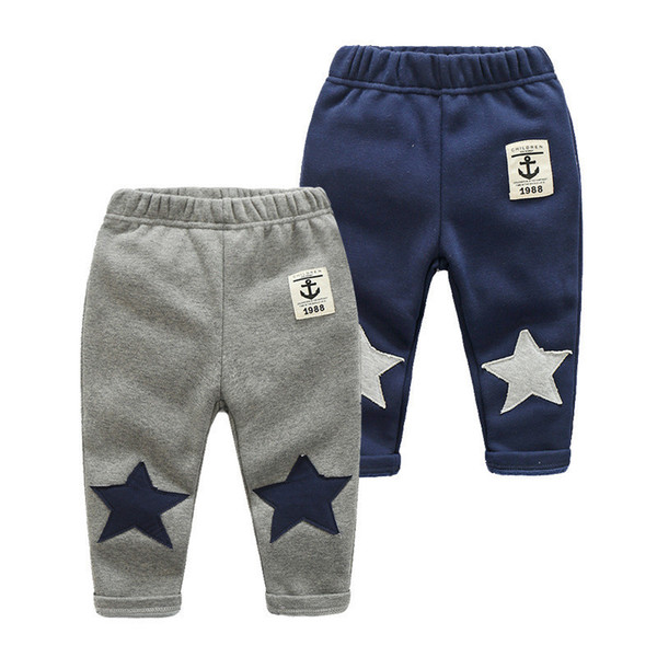 good quality Kids Pants Children Outfits Winter Boys Warm Casual Pants autumn pants children cotton casual fashion trous