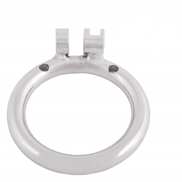 Stainless Chastity Device Base Ring Male Cock Cage Spares