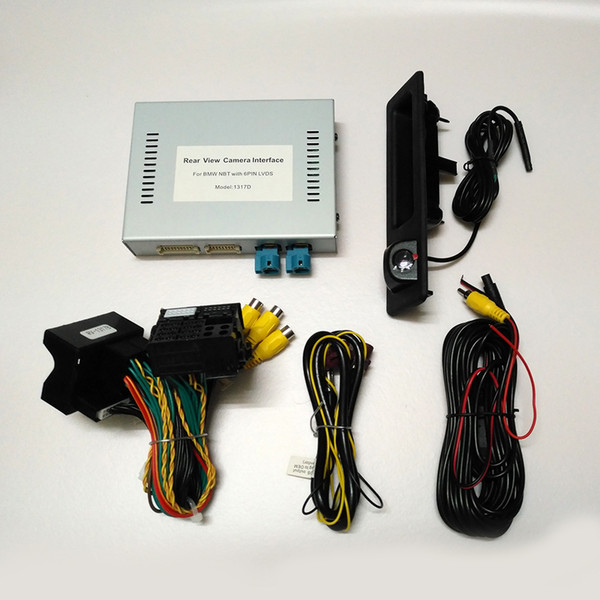 best selling car Reversing camera Interface module for BMW 1 2 3 4 5 7series X1 X3 X4 X5 X6 with NBT system