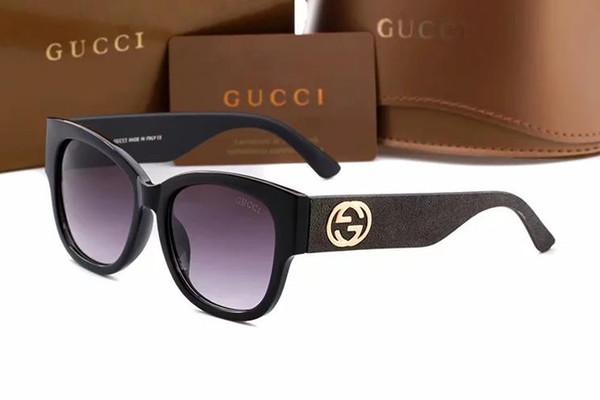 Top 7753 calidad gafas de sol deportivas de lujo diseñador de la marca marco completo UV con logo hombres y gafas de moda de las mujeres envío gratis