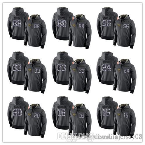 Men's Jaguars Dark Gray Admiral Sweater Hoodie Outdoor Clothing