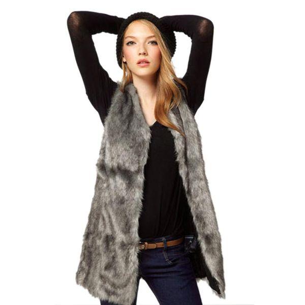 Womail New Women Vest Jacket Sleeveless Winter Body Warm Coat Long Waistcoat Giletwomen vest 2018 L30726