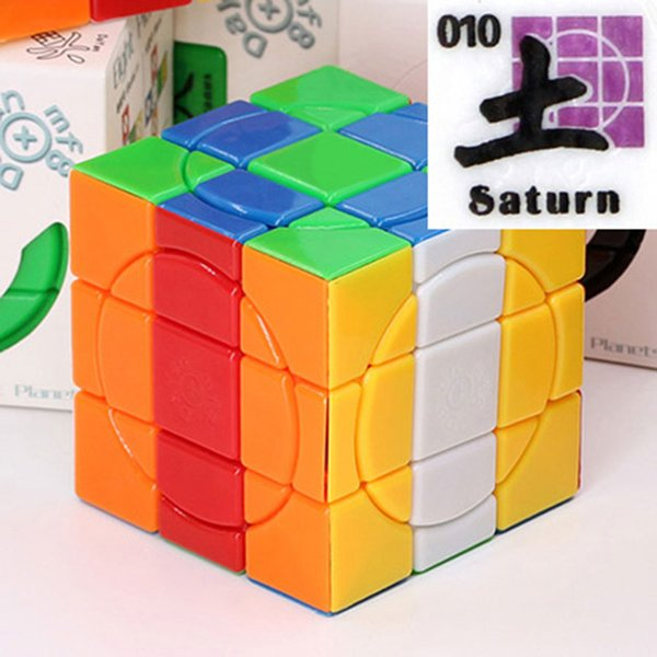 Color:Saturn colorful