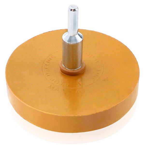 Gtbl 88mm roue de polissage 1/4 pouces Decal Remover caoutchouc Gomme Roue des autocollants de voiture autocollants en vinyle rapide polissage Outil de suppression