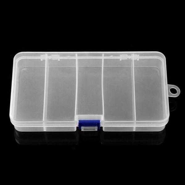 5 отсеков рыболовных снастей ящик пластиковый водонепроницаемый рыболовные снасти рыболовные приманки крючок приманки кейс для хранения организатор контейнер