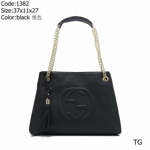 2019 new shoulder bag diagonal cross bag handbag wallet high quality plaid pattern ladies wallet brand designer Classic black and red
