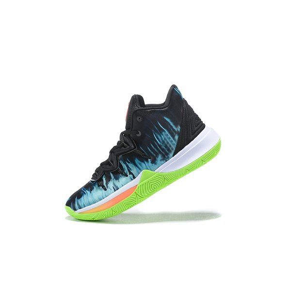 Cheap mens kyrie 5 basketball shoes ASG Green White Black out Gold Team Red Galaxy youth kids kyries irving sports sneakers tennis with box