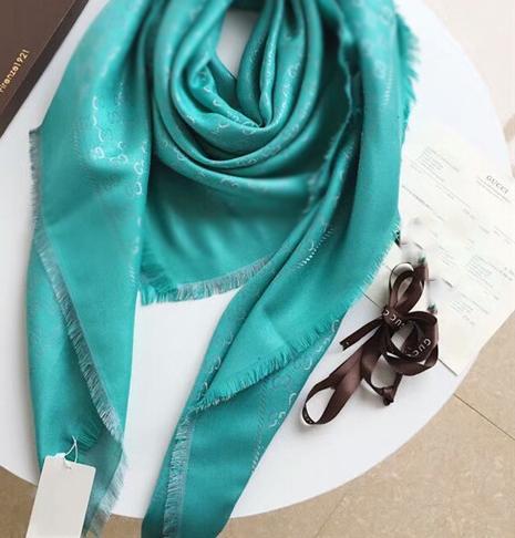 Echarpe en coton taille 140 * 140cm automne et or materia et hiver haute qualité automne, marque foulard imprimée dame, foulard fashion lady