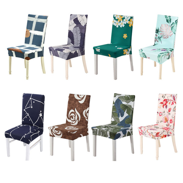Kitchen Chair Covers Spandex Funda Silla Spandex Slipcover Chair Stretch  Seat Covers For Chairs Stretch Cover Dining Tablecloth And Chair Cover ...