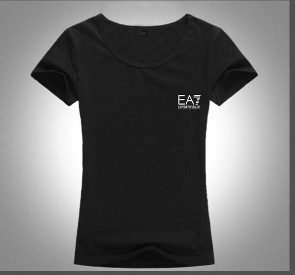 La France européenne et l'Italie été nouvelle mode féminine mode casual T-shirt O col demi-manche confortable lumière livraison gratuite