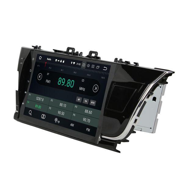 "Android 8.0 Octa Core 2 din 10.1"" Car DVD Multimedia GPS for Toyota Corolla 2014 2015 2016 4GB RAM 32GB ROM RDS Radio Bluetooth WIFI USB"