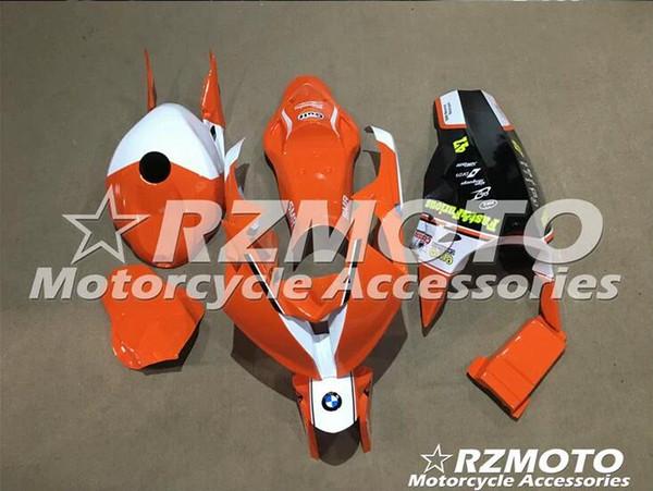 Carenados de la motocicleta ACE para carcasa de fibra de vidrio BMW S1000RR 2015 2016 2017 2018 No.T1
