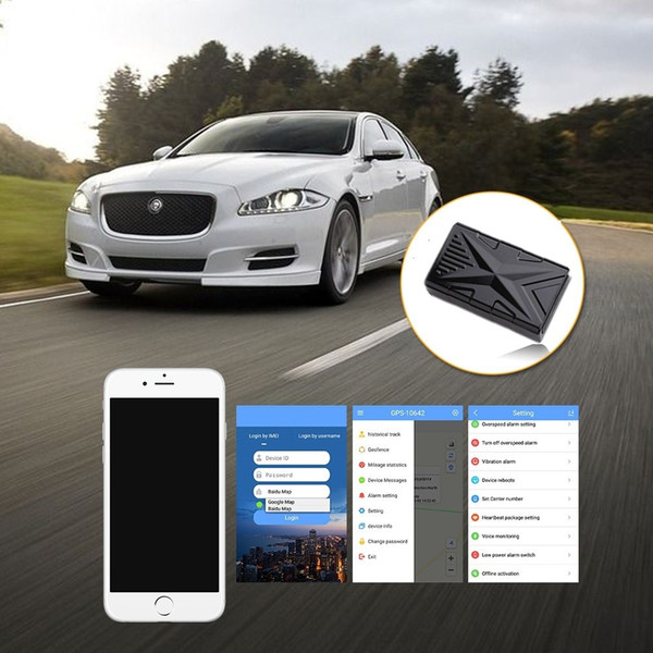 Waterproof Car GPS Tracker TK905 with magnet long time battery car gps locator with Free APP