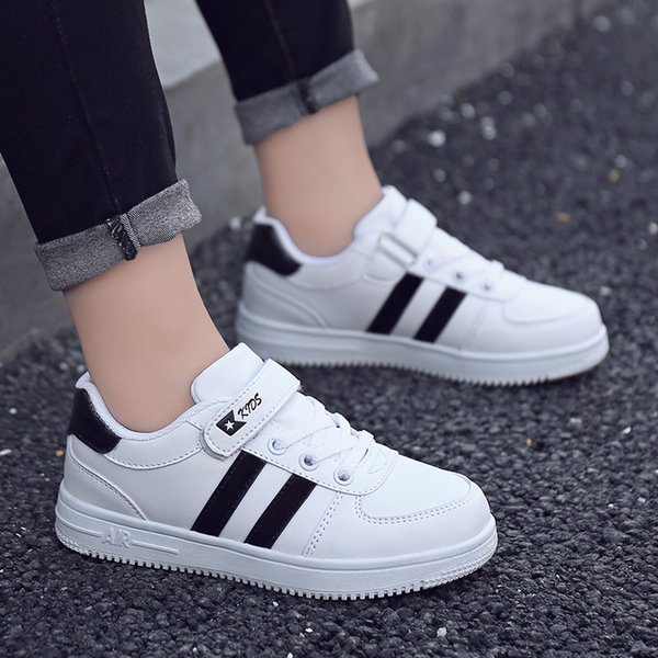 New Girl Canvas Children's Toddler Woman Kids Boys Sports Wings Motion Child Small White Board Children Shoes