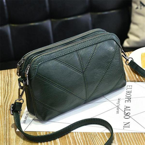 BARHEE 2018 de alta calidad de cuero bolso de las mujeres de lujo bolsa de mensajero suave de la pu de la moda de moda para mujer de Crossbody Bolsos Mujer Bolsas