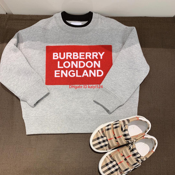 Девочки свитер пуловер детская дизайнерская одежда осень новый бархатный узор украшенный свитер 19